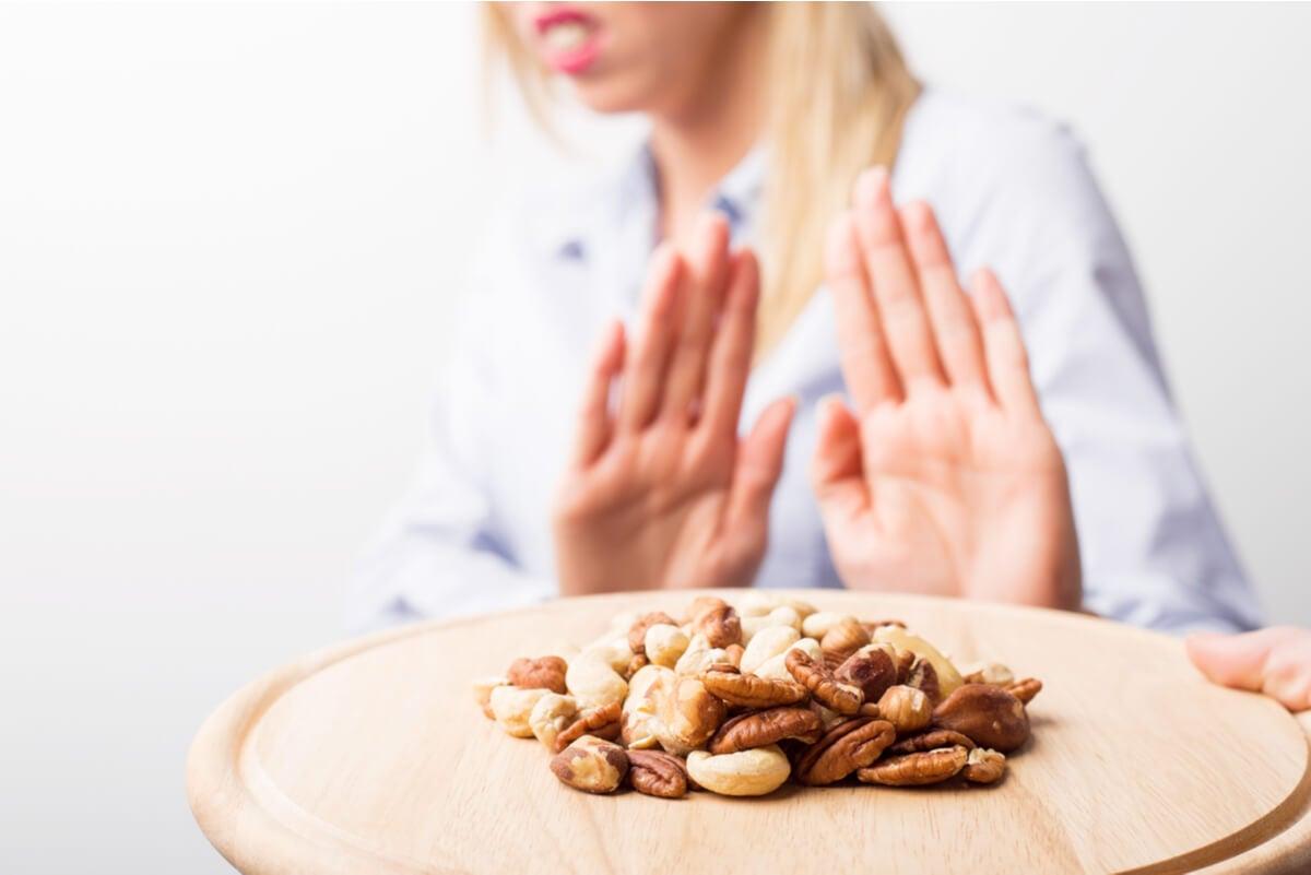 Alergia a los frutos secos y a los cacahuetes