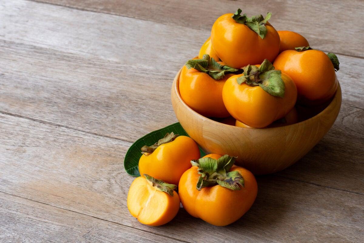 Fruto caquis.