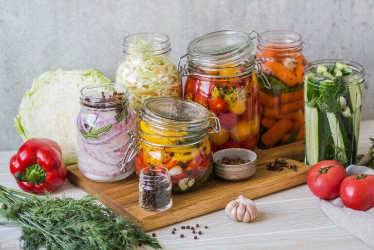 Efectos del encurtido en los vegetales