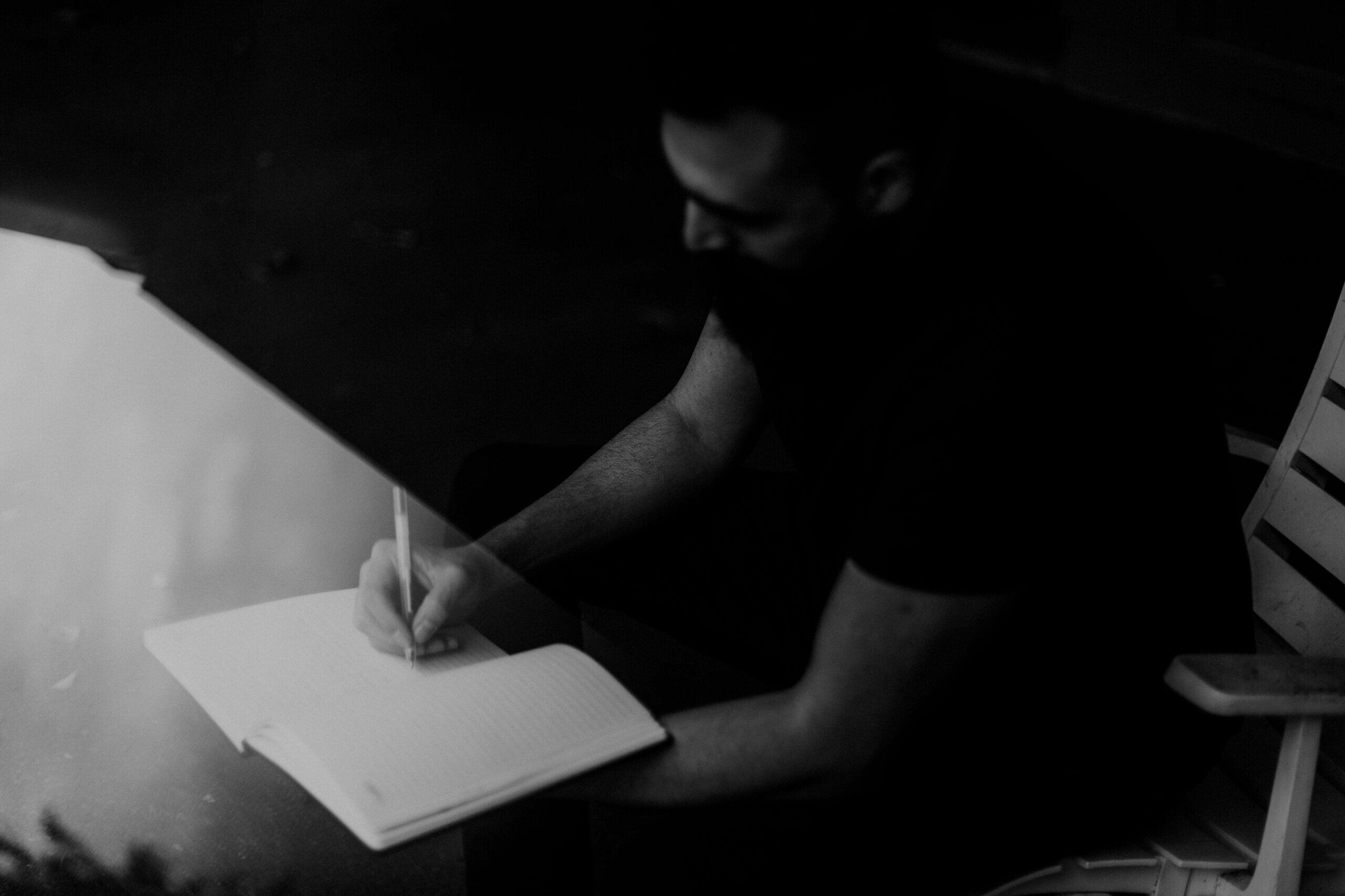 Escribir para liberarnos del resentimiento.