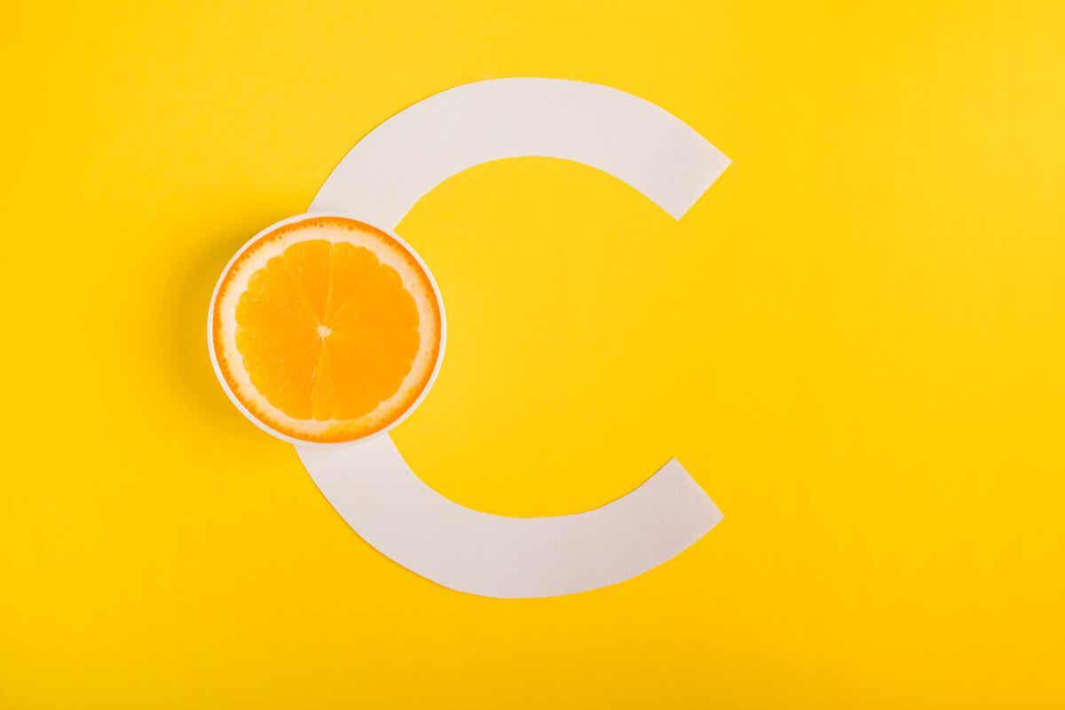 Vitamina C en la galanga.