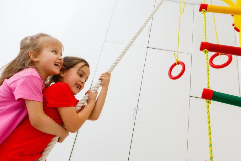 Ejercicios de Crossfit para niños: beneficios