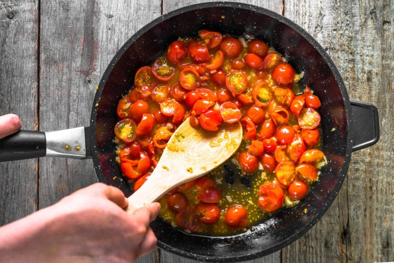 Cómo hacer tomate frito casero