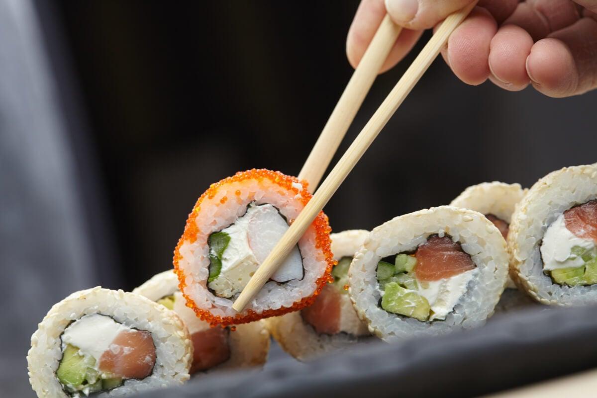 Tipos de sushi con pescado.