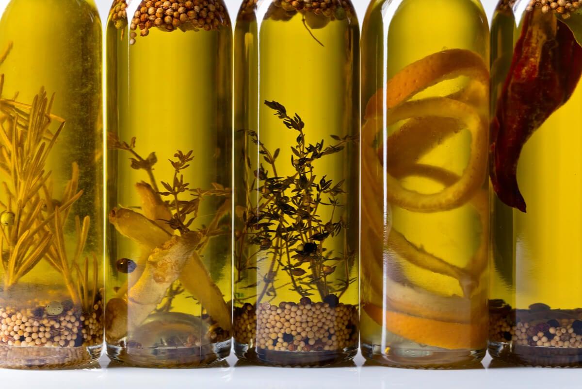 Tipos de aceite oliva.