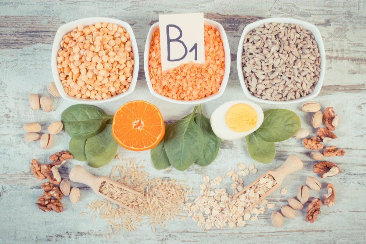 Alimentos con vitamina B1.