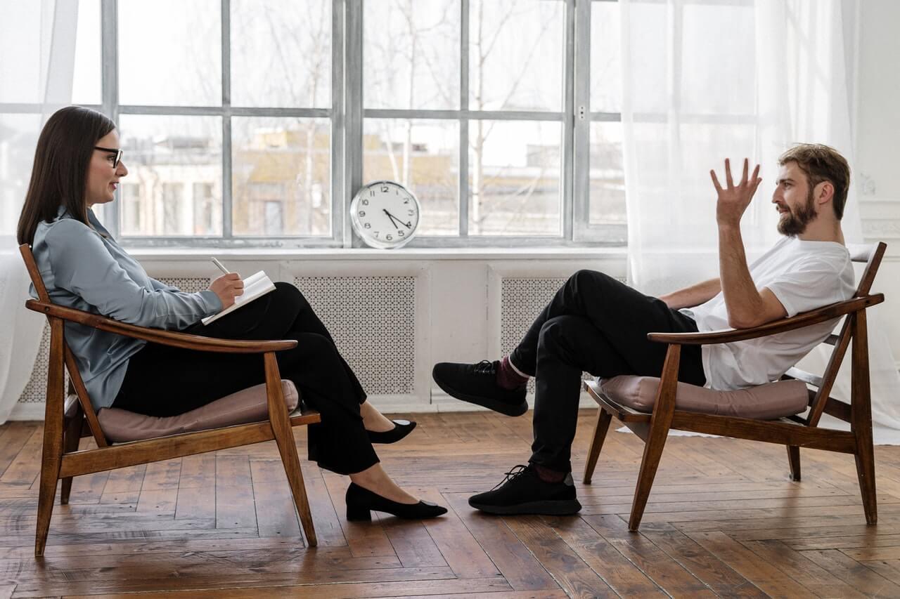 Consulta con el psicólogo