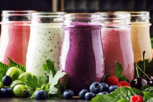 Batidos de frutas y yogur: ¿por qué prepararlos?