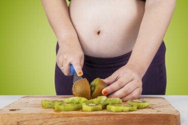 Beneficios de consumir kiwi en el embarazo