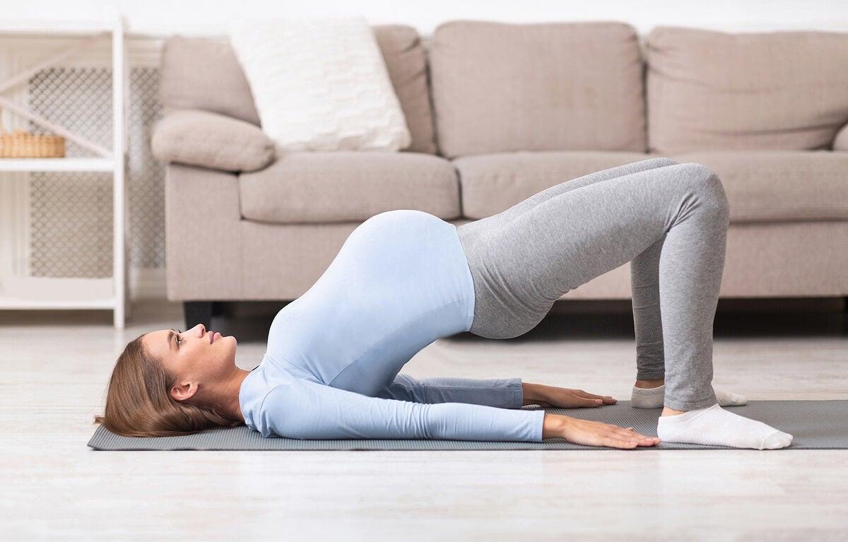 Ejercicios para el dolor de espalda en el embarazo.