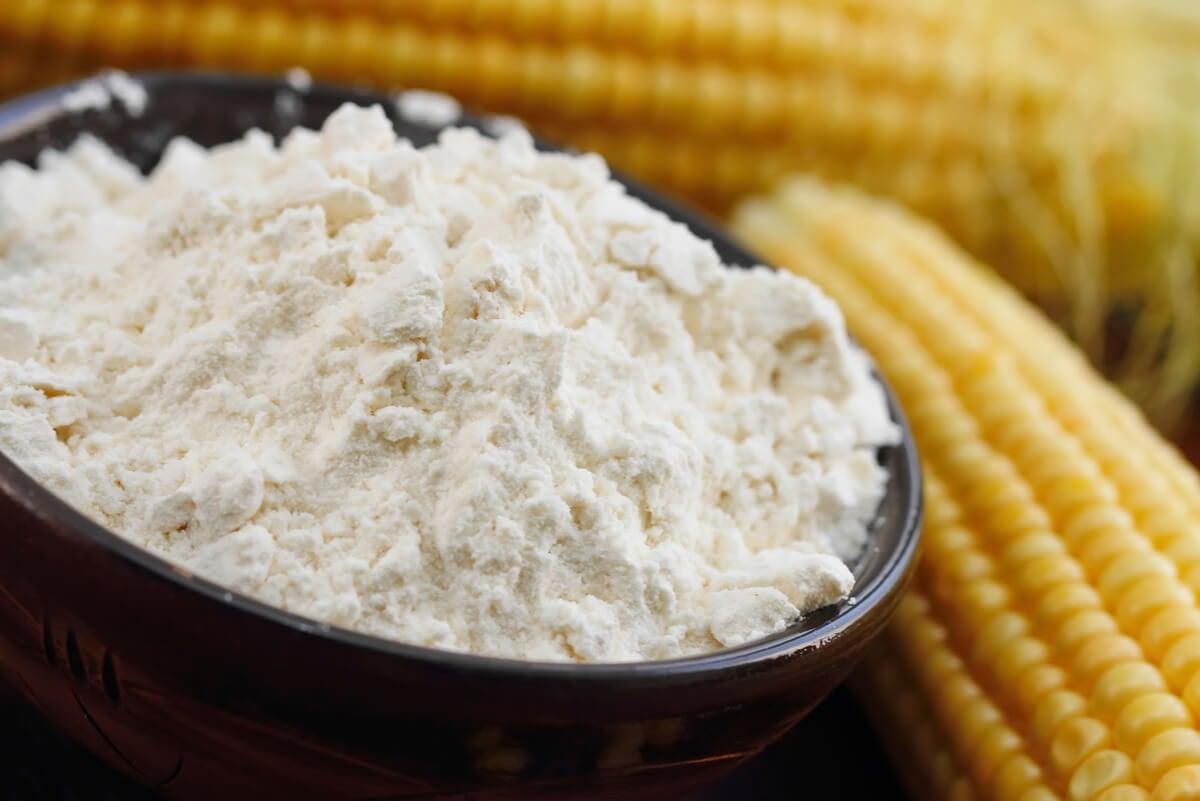 Harina de maíz.