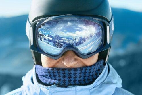 Fotoqueratitis: la ceguera de la nieve
