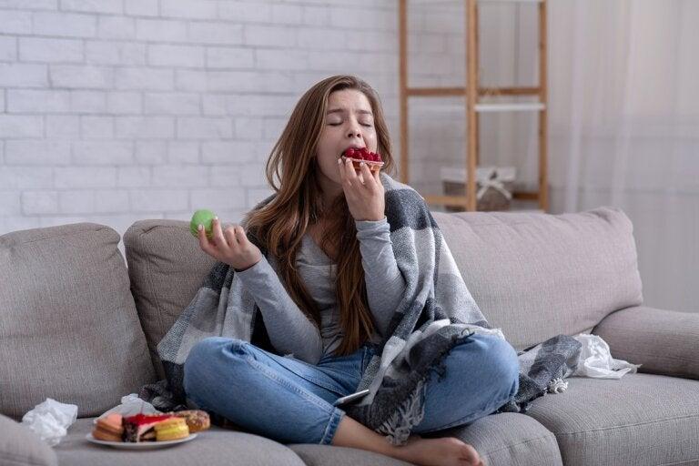 No puedo dejar de comer: causas y qué hacer
