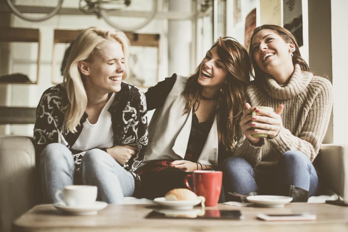 El café y la amistad.