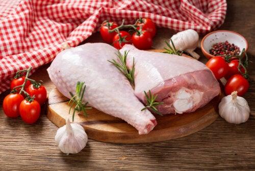 Carne de pavo y carne de pollo: ¿cuáles son sus diferencias?
