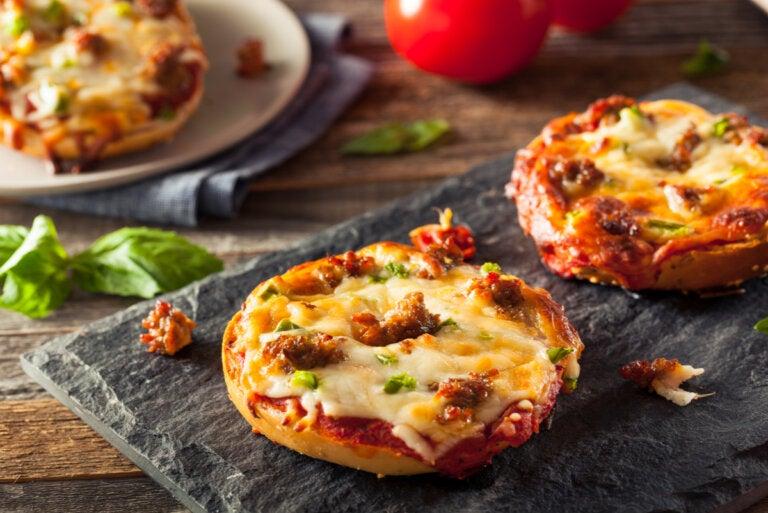 3 recetas para hacer una pizza saludable