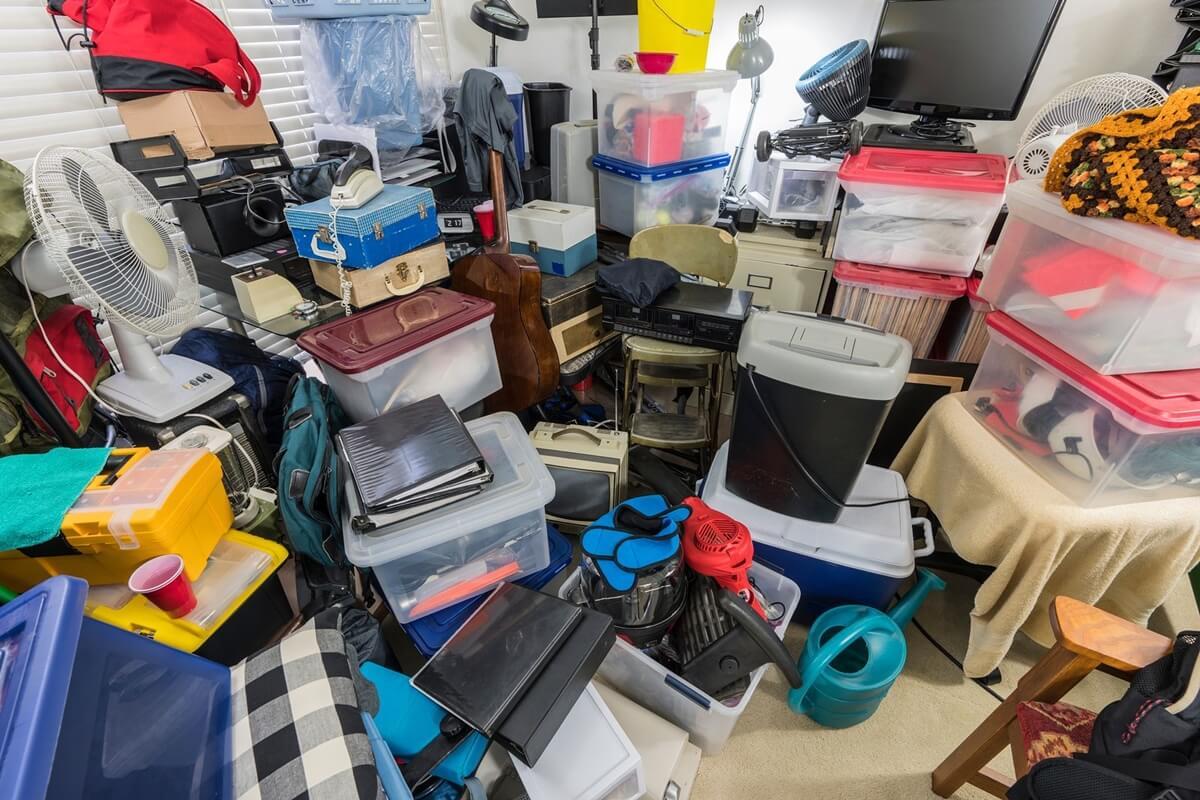 Trastorno por acumulación de objetos.