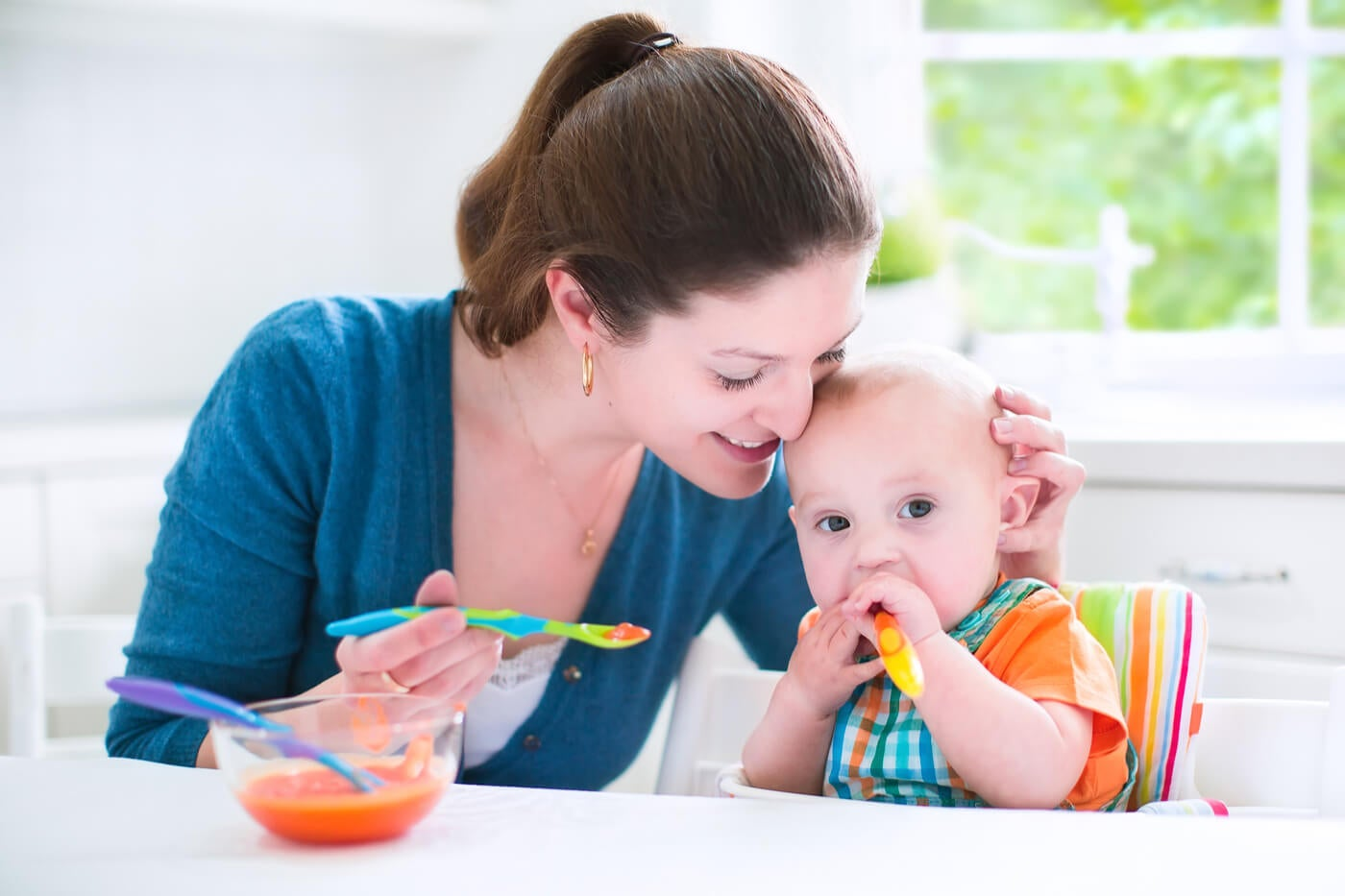6 recetas con leche materna para darle a tu bebé