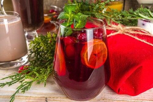 5 ideas de cócteles para disfrutar en Navidad