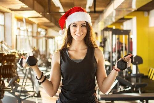 ¿Por qué es importante seguir entrenando en Navidad?