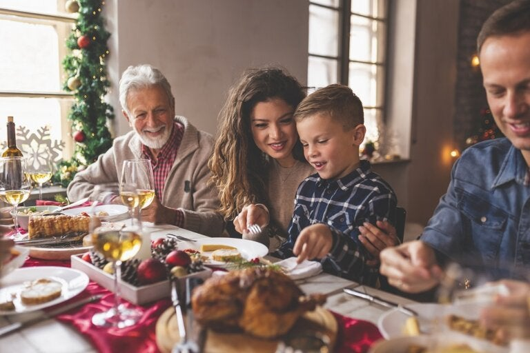 Diez consejos para no subir de peso en Navidad