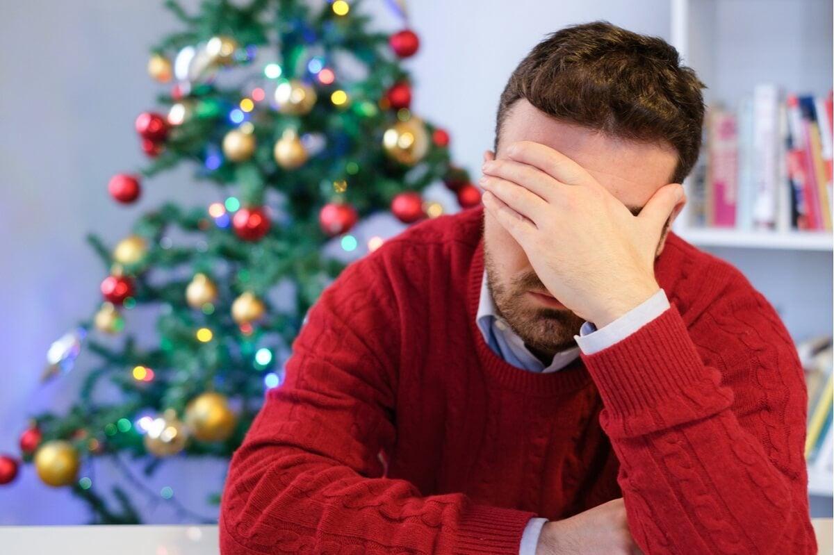 ¿Cuál es la causa de la depresión blanca o blues de Navidad?