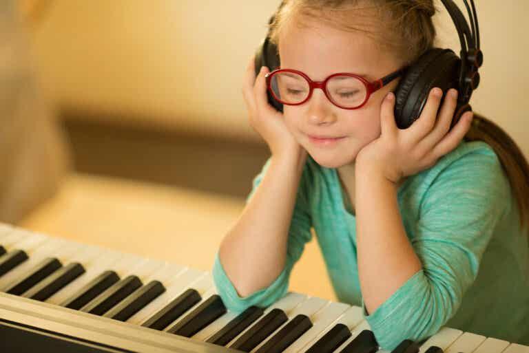 Los beneficios de la musicoterapia en niños con síndrome de Down