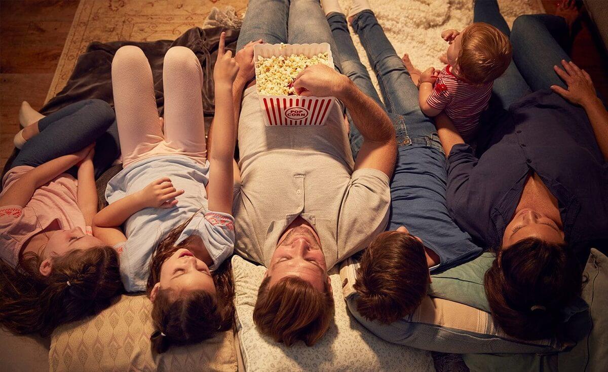 Película en familia para disfrutar.