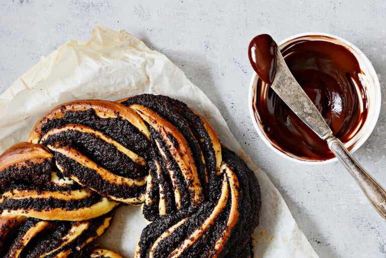 Receta para pan Babka de chocolate