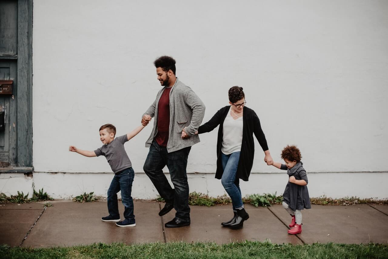 Tiempo en familia como una razón para ser feliz.