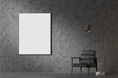 Pintar las paredes de negro: ventajas y desventajas