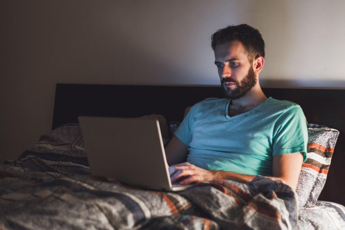 6 desventajas de trabajar desde la cama