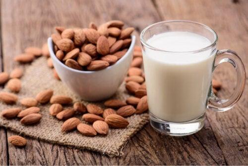 Consumo de leche de almendras en niños: beneficios y desventajas