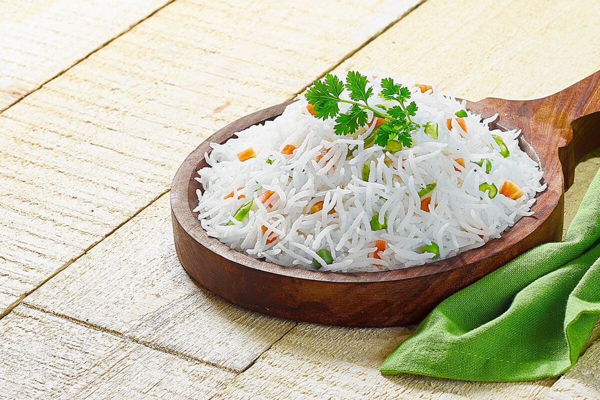 Descubre las diferencias entre el arroz basmati y el arroz jazmín.