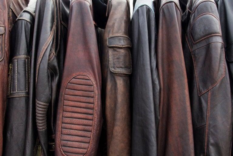 5 trucos para limpiar una chaqueta de cuero