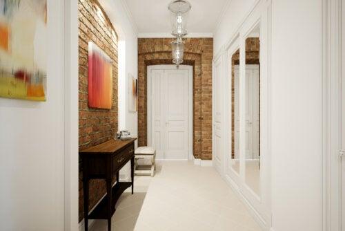 12 ideas para decorar un pasillo largo