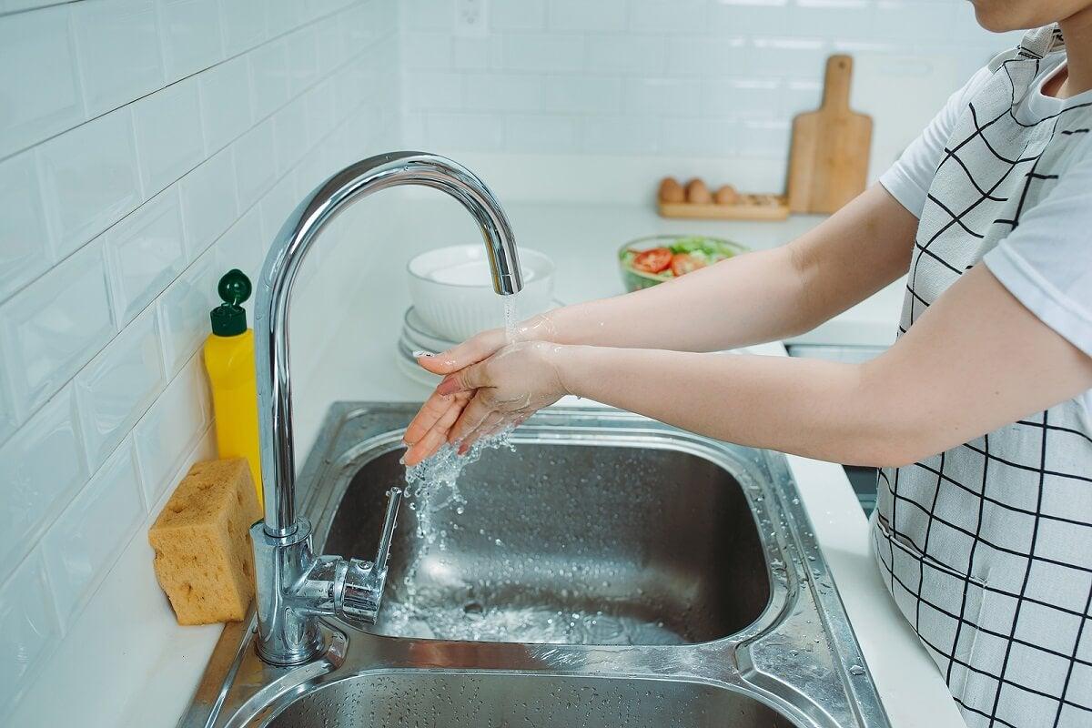¿Por qué es importante limpiar el lavaplatos?