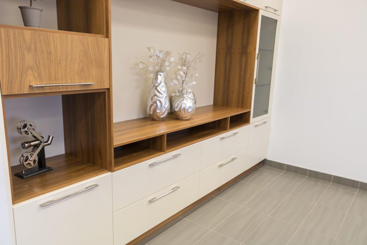 Muebles multifuncionales para ampliar el espacio de la casa.