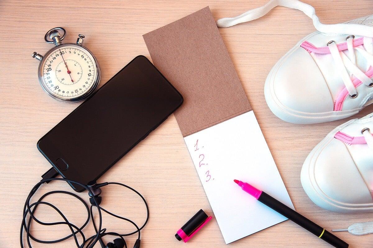 Establecer un horario y un espacio para la práctica