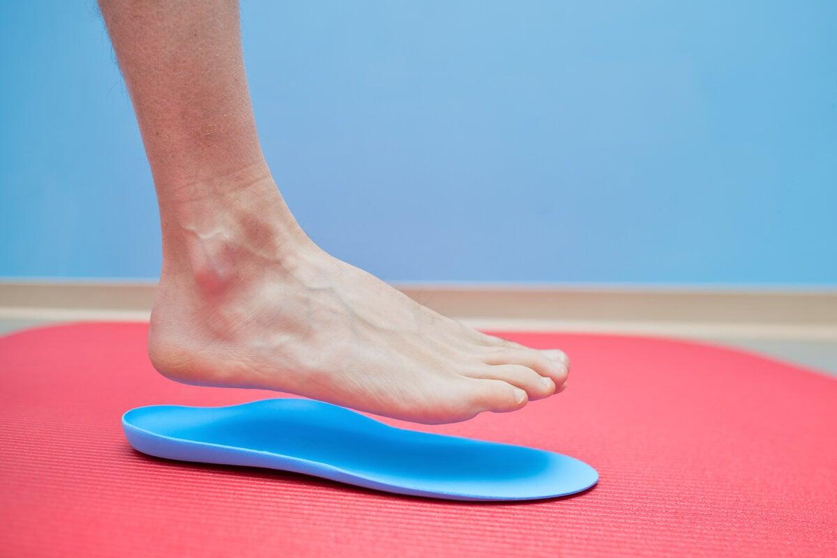 Plantillas para corregir el pie plano.