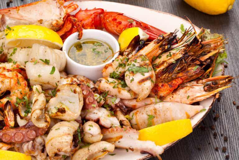 ¿Qué son los mariscos y qué tan nutritivos son?