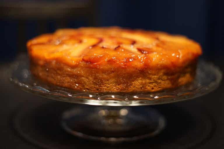 Tarta de melocotón: receta paso a paso