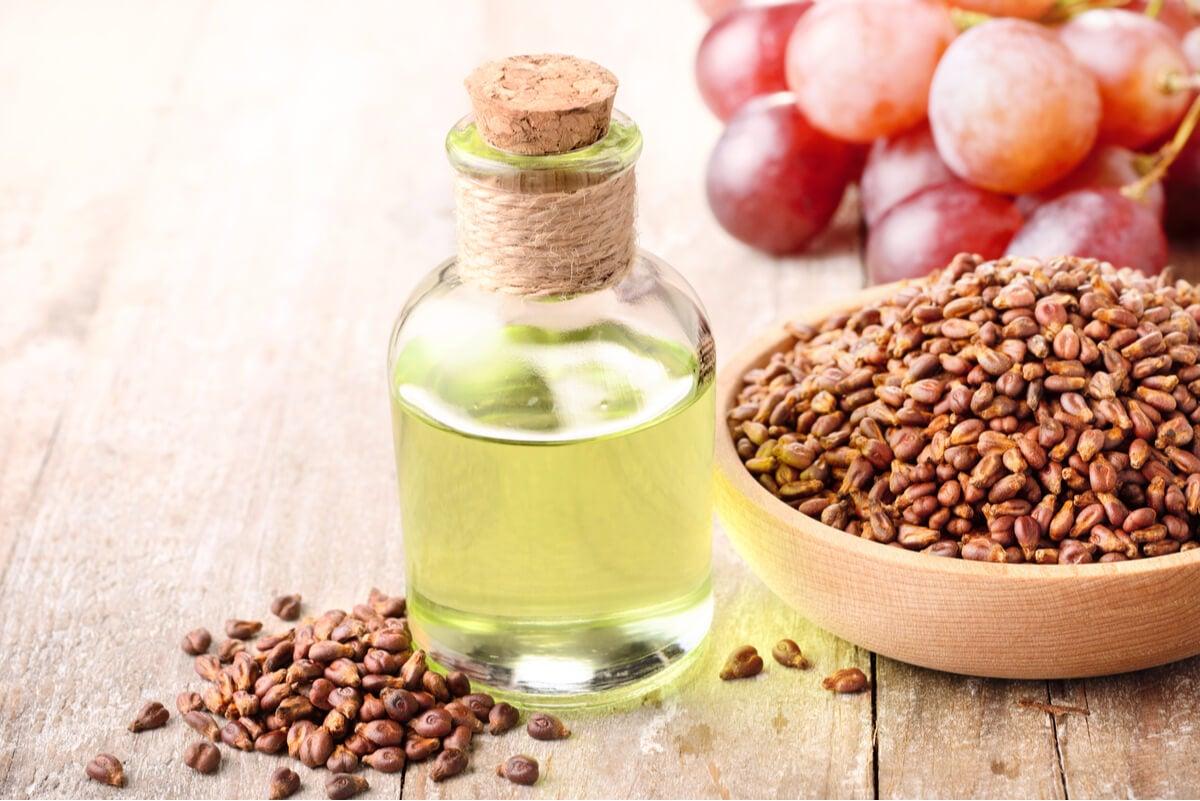 Contraindicaciones del aceite de semilla de uva.