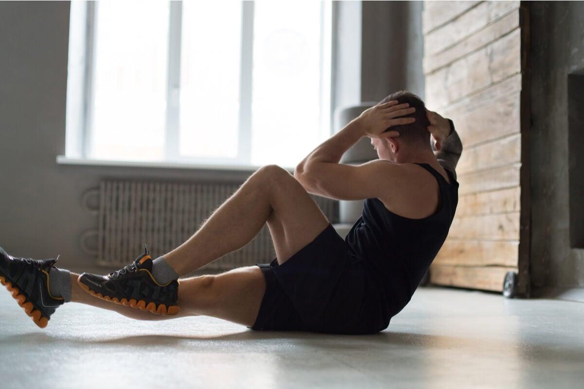 Beneficios del bodyweight training en un hombre.
