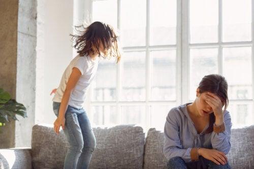 ¿Qué señales indican que el niño está malcriado?