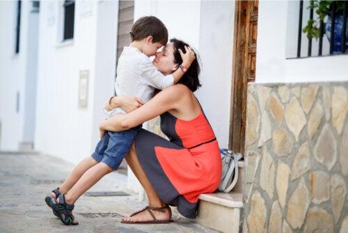¿Por qué son importantes los abrazos para los niños?