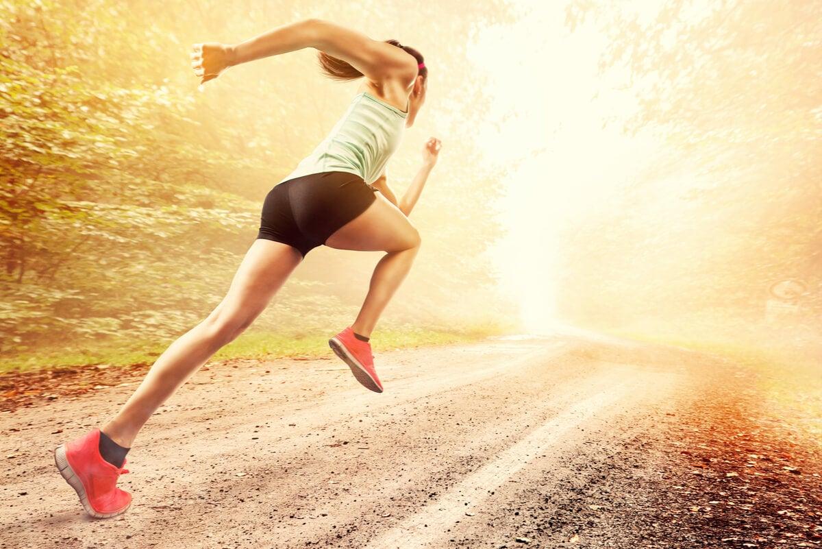 Ejercicios de sprint.