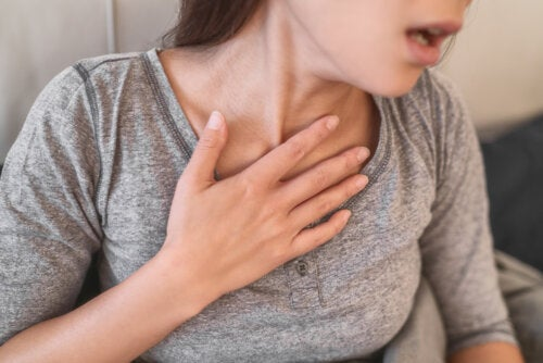 Taquipnea: respiración rápida y superficial