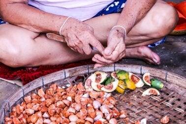 ¿Por qué es peligrosa la nuez de betel?
