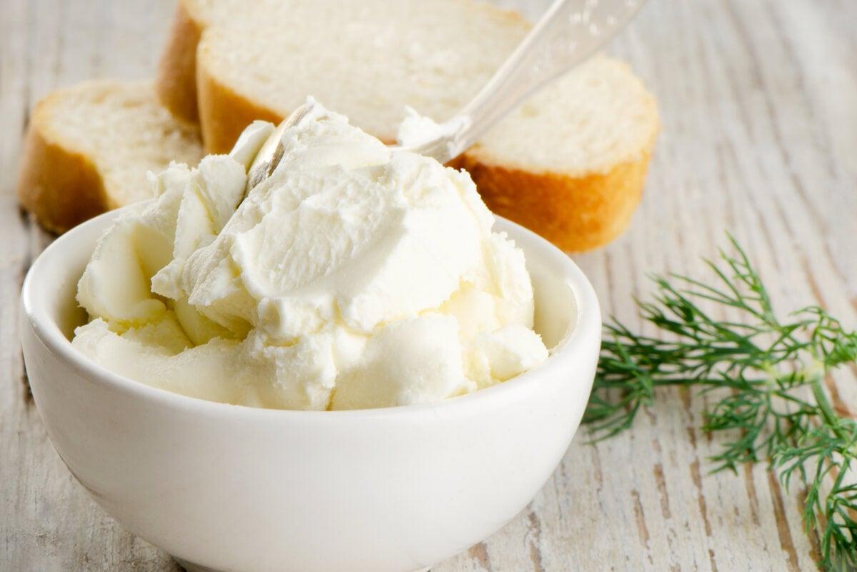Cream cheese com carragena